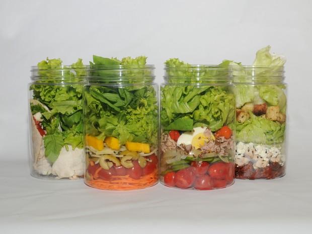 Hype Food oferece diversos tipos de saladas ao consumidor (Foto: Divulgação/Hype Food)
