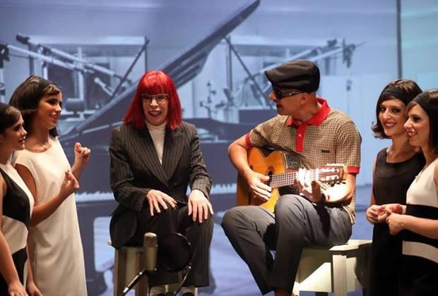 Bastidores do clipe (Foto: Silmara Ciuffa/ divulgação)