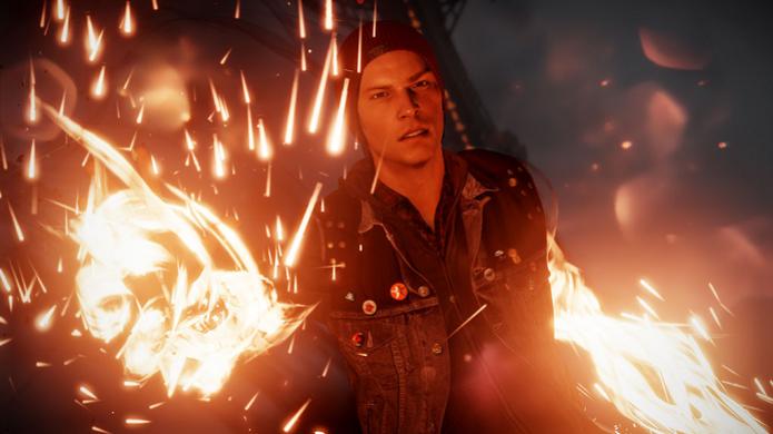 Novo Infamous chega em março ao PS4 (Foto: Divulgação/Sony)