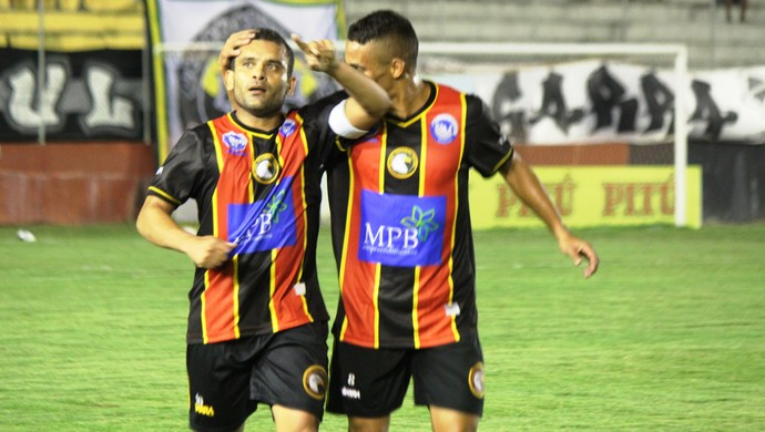 Renatinho Potiguar - meia do Globo FC (Foto: Diego Simonetti/Blog do Major)
