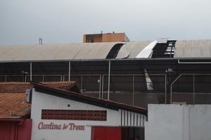 Trem; Amapá; Esporte (Foto: John Pacheco/GE-AP)