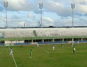 Assu x Santa Cruz de Natal - Estádio Nazarenão (Foto: Rádio Princesa do Vale)