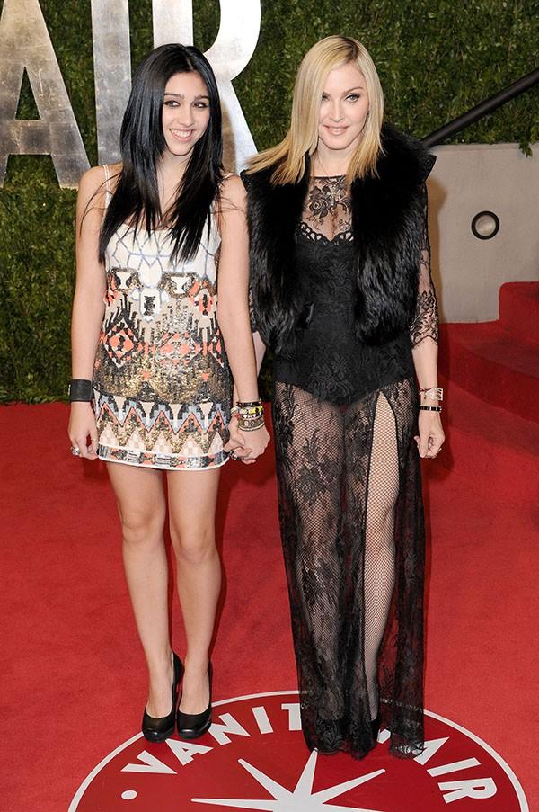 Madonna e a filha Lourdes Maria (Foto: Getty Images)