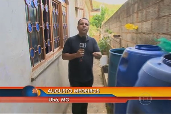 Epidemia de dengue atingiu Ubá durante racionamento de água (Foto: Divulgação | TV Integração )