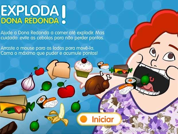 O jogo da dona Redonda é a maior curtição!  (Foto: TV Globo/ Saramandaia )