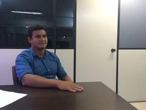 Secretário de Saúde, Antonio Teles (Foto: Abinoan Santiago/G1)