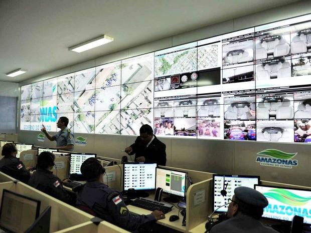 Segundo a SSP-AM, Zonas Norte e Leste concentraram 59% do total das demandas no Ciops (Foto: Alfredo Fernandes/Agecom)