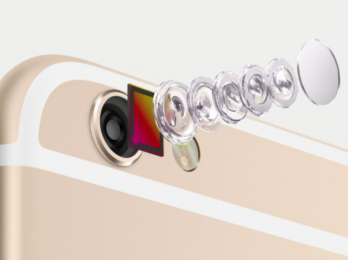 A câmera do iPhone 6S poderá trazer o novo sensor RGBW da Sony (Foto:Divulgação/Apple)
