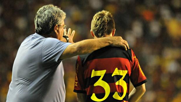 Geninho - Chumacero - Sport (Foto: Aldo Carneiro/Pernambuco Press)