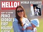 Revista mostra viagem de Kate Middleton com príncipe George