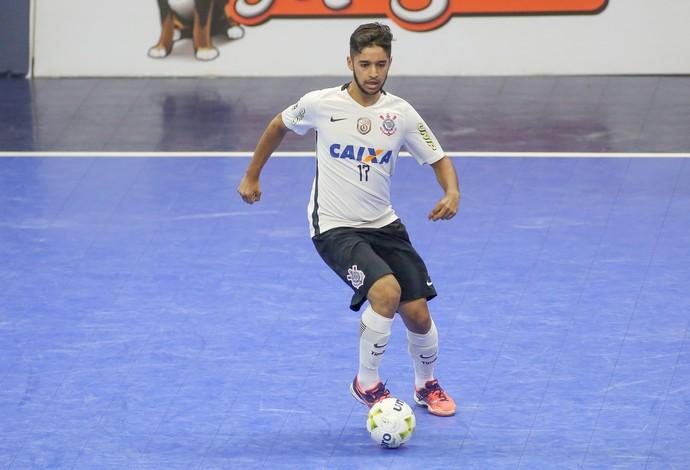 Leandro Lino Sorocaba x Corinthians final Liga Nacional de Futsal (Foto: Rodrigo Coca/Ag. Corinthians)