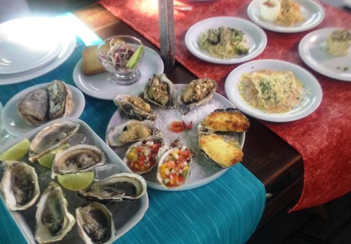 Mistura vai mostrar produção de ostras, além de degustar pratos  (Foto: RBS TV/Divulgação)