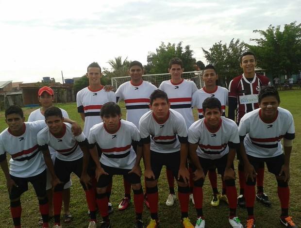 Mendes Sá é campeão da Copa  de Futebol Sub-23 da Bahia (Foto: Cedida/Sandro Vasconcelos)