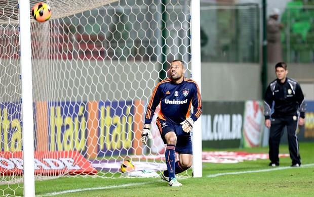 Diego Cavalieri Fluminense x Atlético-MG (Foto: Cristiane Mattos / Ag. Estado)