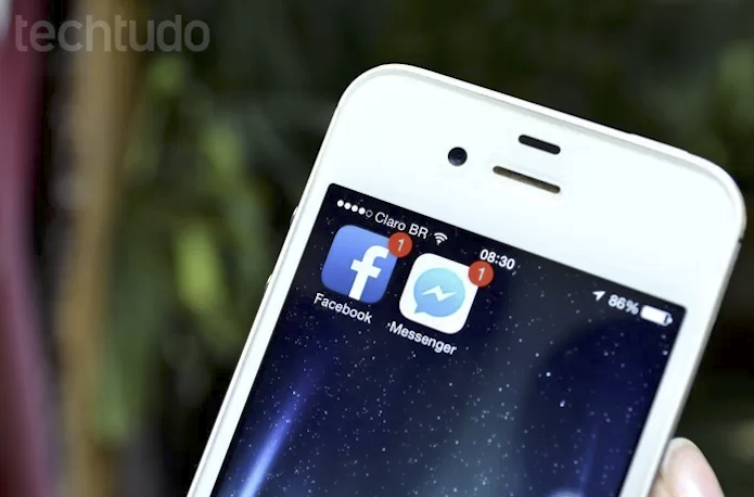 Adicione novos contatos da agenda do iOS no Facebook (Foto: Luciana Maline/TechTudo)