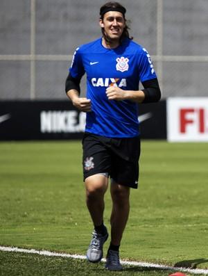 Com Libertadores quase certa, Cássio tem novo objetivo: ultrapassar rival