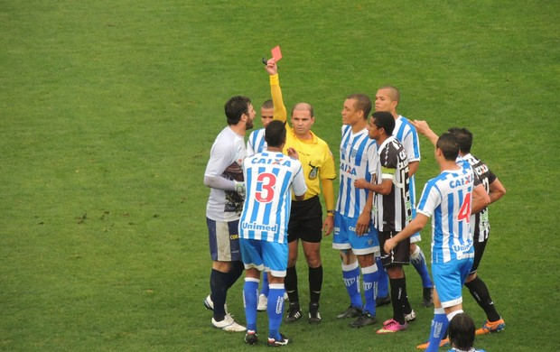 Avaí x Figueirense (Foto: Renan Koerich)
