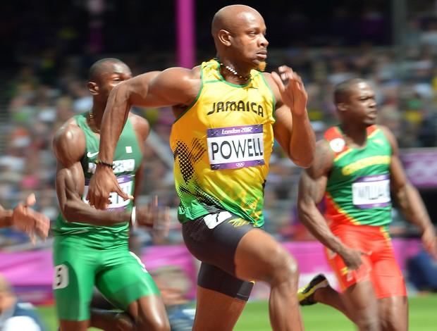 Asafa Powell, Atletismo, Londres (Foto: Agência AFP)
