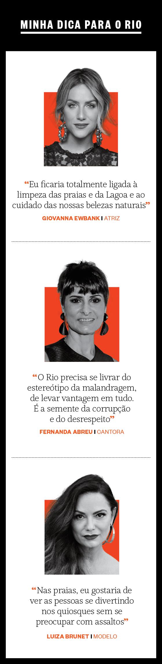 Minha dica para o Rio (Foto: Época)