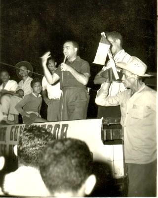 Foto da campanha para governo 1962 (Foto: Acervo histórico do Museu Universitário da Ufac)