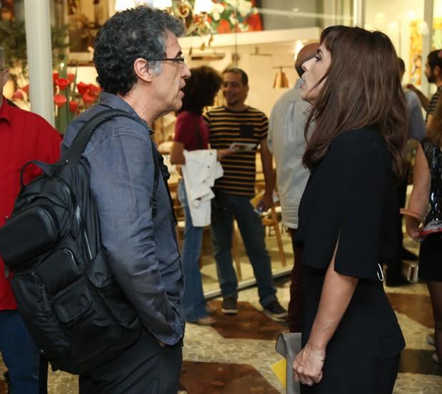 Paulo Betti e Maria Ribeiro (Foto: Roberto Filho/Brazil News)