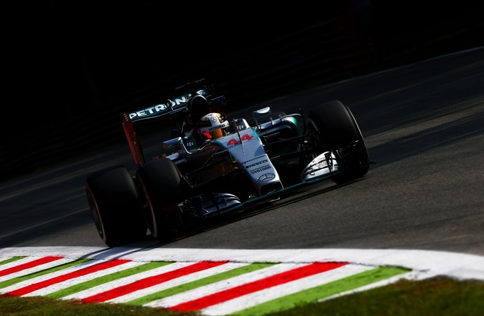 Lewis Hamilton treino GP de da Itália Monza (Foto: Getty)