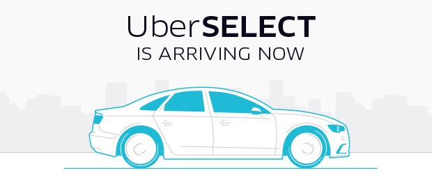 Uber Select (Foto: Uber)