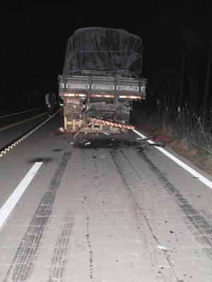 Caminhoneiros morreram em acidente (Foto: Divulgação/Coordenadoria Regional de Perícias de Caxias do Sul )