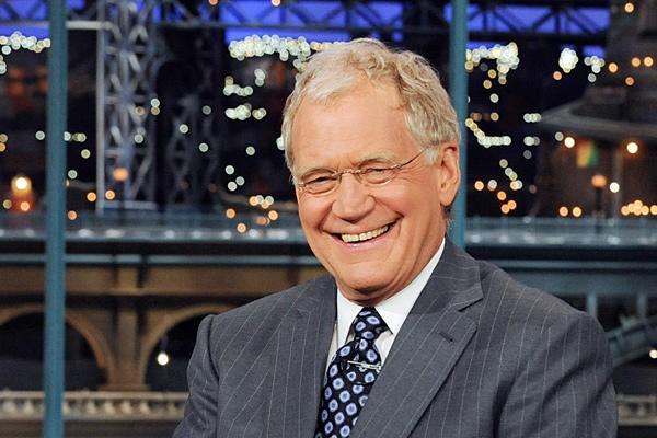 O apresentador David Letterman (Foto: Divulgação)