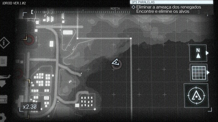 Menu do game aparece no celular (Foto: Thiago Barros/TechTudo)