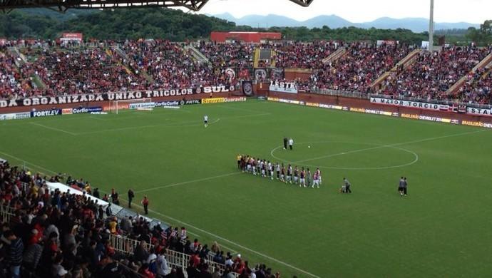 Arena Joinville será palco da disputa (Foto: José Carlos Fornér/JEC)