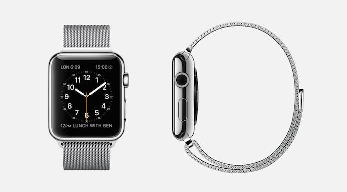 Apple Watch com revestimento em aço (Foto: Divulgação/Apple)