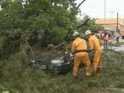 Trabalhador rural morre esmagado por contêiner durante chuva em Pontal
