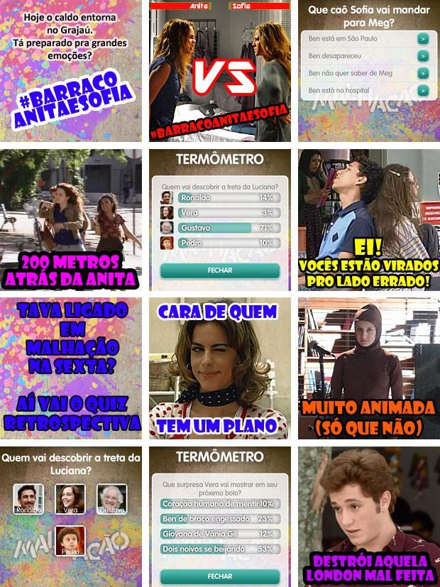 crõnica do alicativo segunda feira cap 50 (Foto: Malhação / TV Globo)