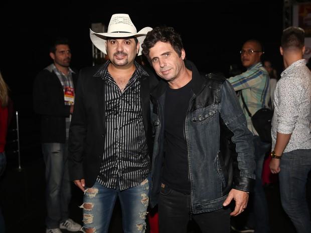 Edson e Hudson em festa em São Paulo (Foto: Manuela Scarpa/ Foto Rio News)