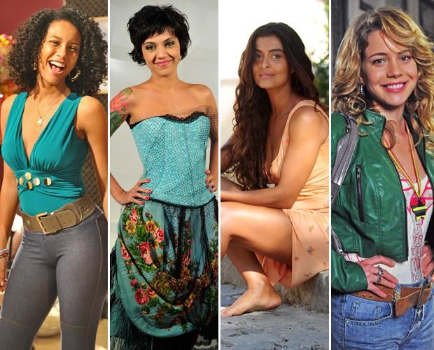 Compare seu tom de pele com o das atrizes e descubra sua cor ideal (Foto: Mais Você / TV Globo)