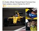 Renault mantém Palmer, Magnussen fica perto de Haas e Nasr se complica