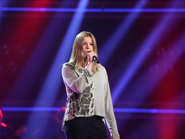 Fantine no 'The Voice' (Foto: Divulgação/Divulgação)