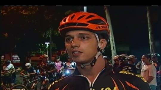 Ciclistas protestam por segurança