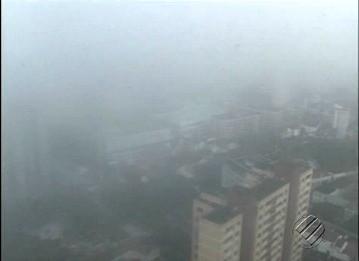Belém neblina' (Foto: Reprodução/TV Liberal)