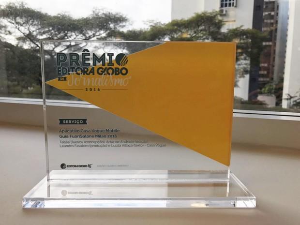 Guia Milão FuoriSalone leva prêmio na categoria Serviço (Foto: Amanda Sequin)