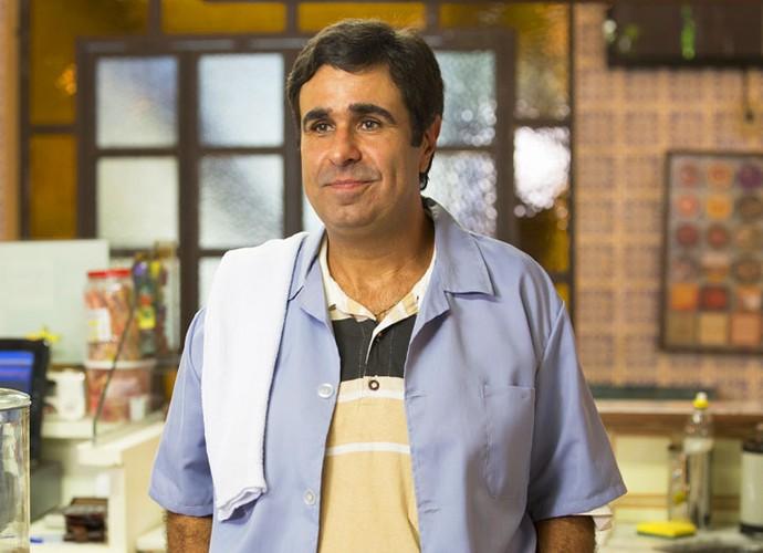 Orã Figueiredo interpreta Hugo em Totalmente Demais (Foto: Felipe Monteiro/Gshow)