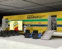 Salão do Automóvel terá trailer com  cores icônicas do capacete de Senna