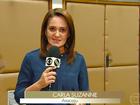 Carla Suzanne é eleita a segunda 'Melhor Repórter do Nordeste'