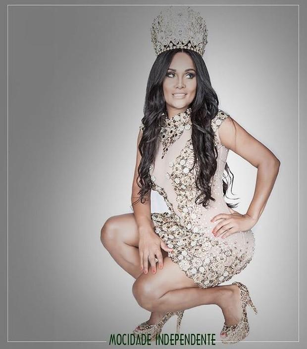 Carmen Mouro, rainha de bateria da Mocidade Independente de Padre Miguel (Foto: Instagram / Reprodução)