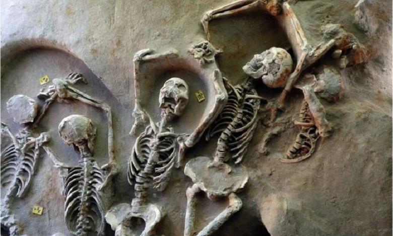 Restos mortais podem ajudar a esclarecer a sociedade da época (Foto: Reprodução/AFP)