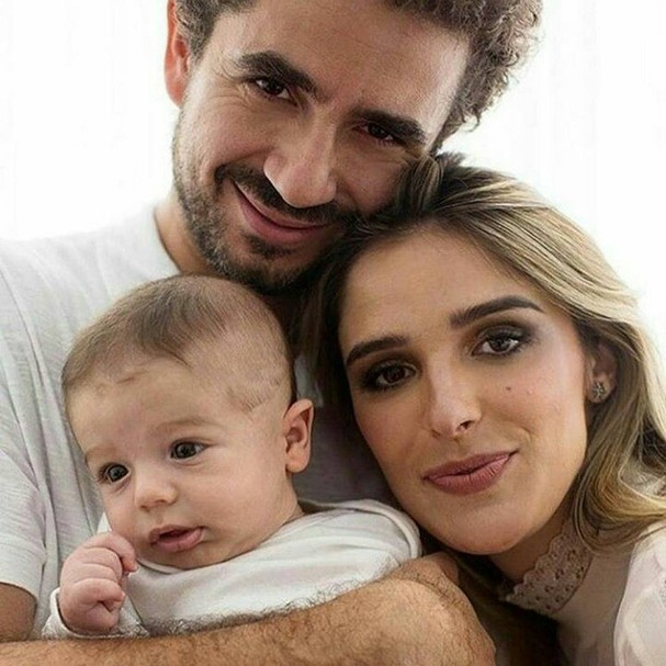 Rafa Brites, Andreoli e Rocco (Foto: Instagram/Reprodução)