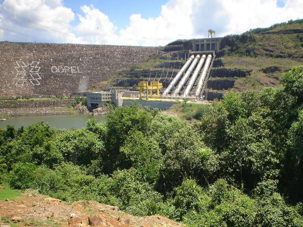 Inaugurada em 1992, quando começou a operar, a antiga Usina de Salto Segredo, foi a primeira do país a contar com um Relatório de Impacto Ambiental (Rima) (Foto: Copel / Divulgação)