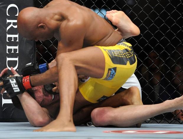 UFC 148 Anderson Silva; Chael Sonnen (Foto: Agência AP)