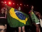 Queda no palco e playback marcam show do grupo Fifth Harmony no Rio